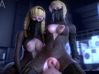 Big tits on skinny chicks