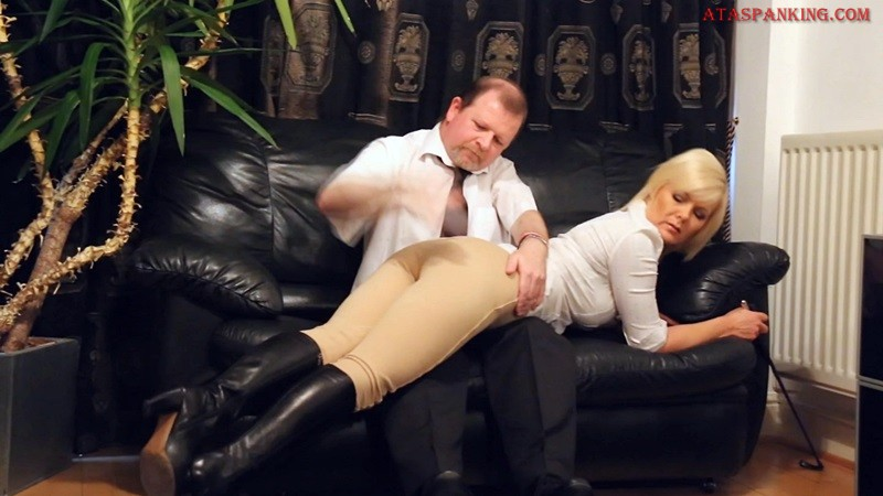 daughter spanks father stories